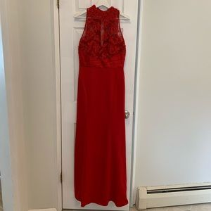 Camille La Vie Red Ball Gown